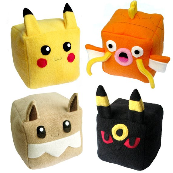 Pokemon Cube Plushie Shut Up And Take My Yen : Anime & Gaming Merchandise