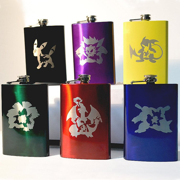 Pokemon Evolution Flask Shut Up And Take My Yen : Anime & Gaming Merchandise