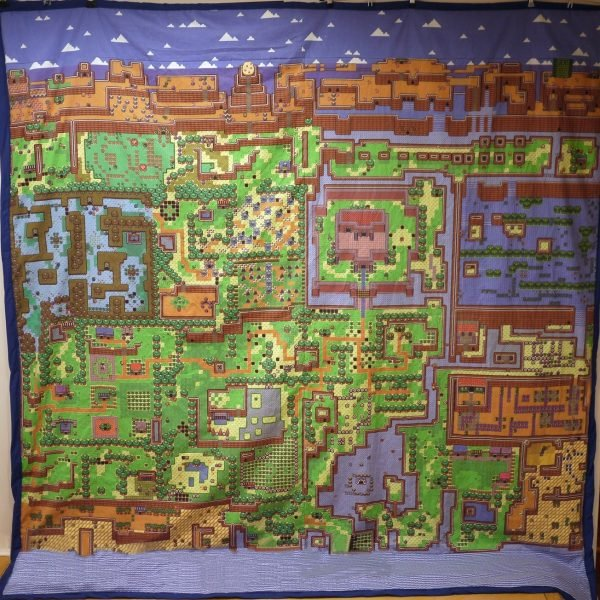 Zelda World Map Bed Sheet Shut Up And Take My Yen