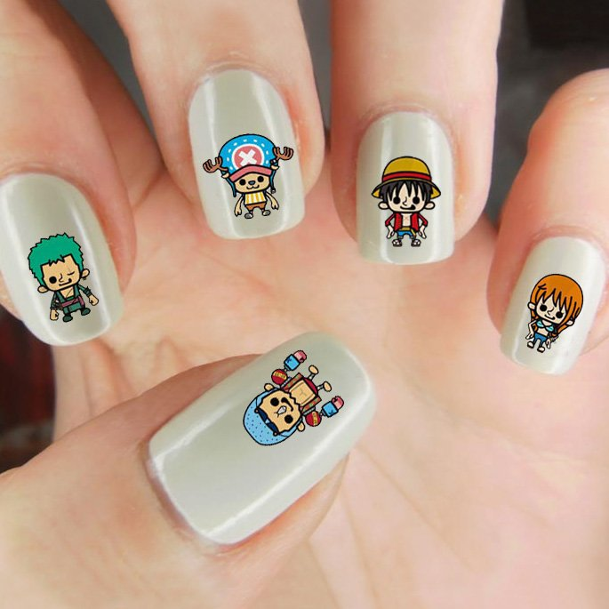 One Piece Nail Decals Shut Up And Take My Yen : Anime & Gaming Merchandise