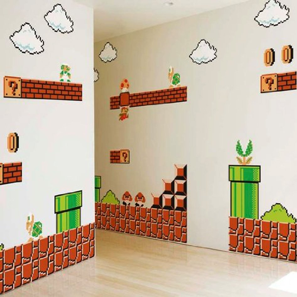 Super Mario Wall Graphics Shut Up And Take My Yen