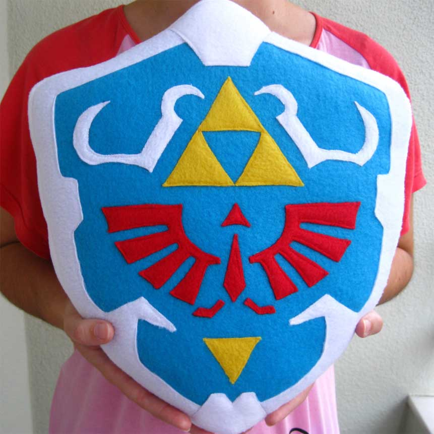 Zelda Hylian Shield Pillow