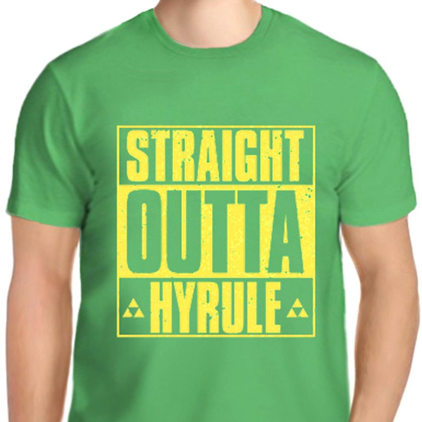 Straight Outta Hyrule T-Shirts & Hoodies Shut Up And Take My Yen : Anime & Gaming Merchandise