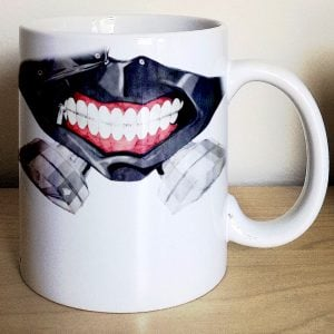 Tokyo Ghoul Kaneki Ken Mug Shut Up And Take My Yen : Anime & Gaming Merchandise