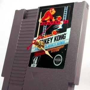 NES Donkey Kong Cartridge Clock Shut Up And Take My Yen : Anime & Gaming Merchandise