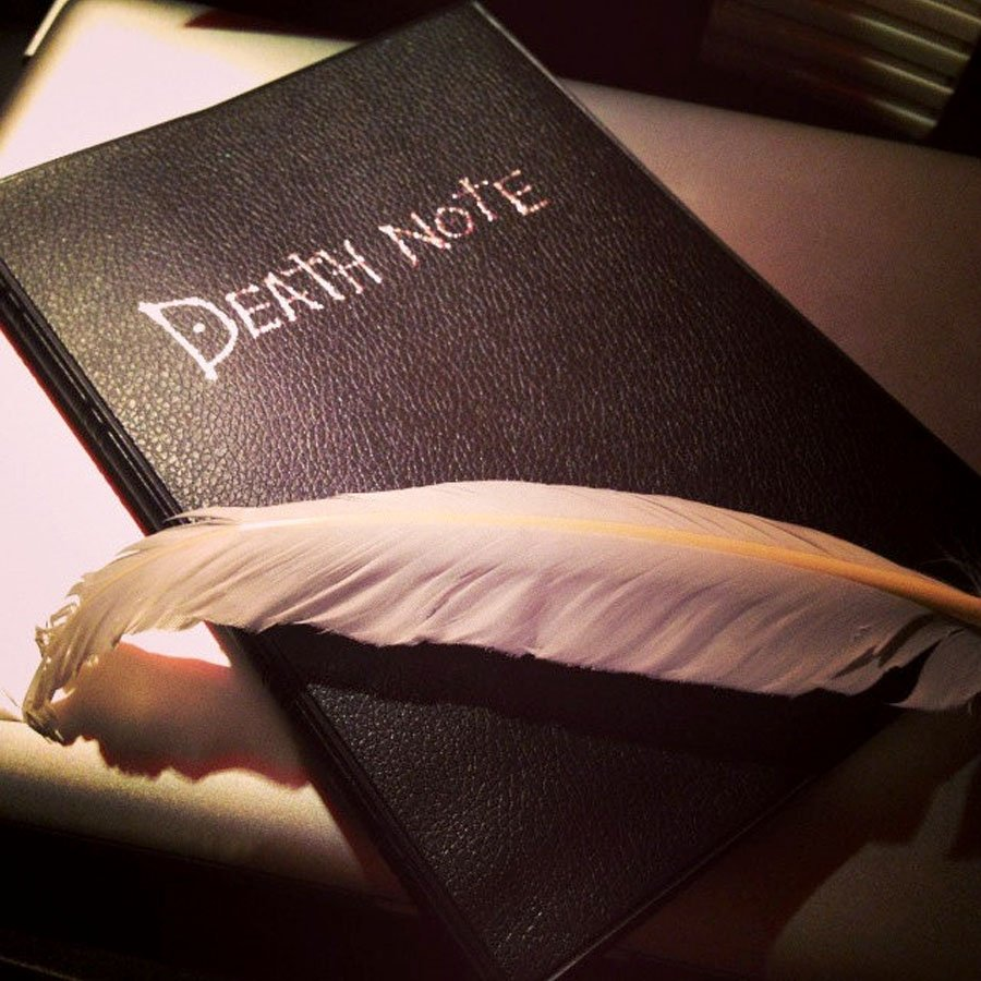 Death Note Notebook - Shut Up And Take My Yen