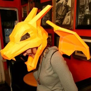 Pokemon Papercraft Masks