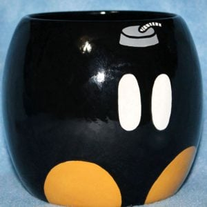 Super Mario Bob-omb Mug Shut Up And Take My Yen : Anime & Gaming Merchandise