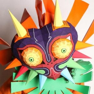 Legend Of Zelda Majora's Mask Papercraft