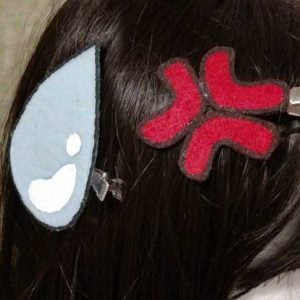 Anime Hair Clips