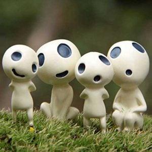 Princess Mononoke Kodama Ornaments