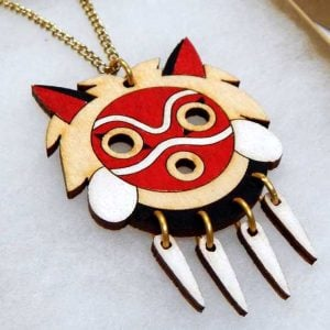 Princess Mononoke Mask Necklace