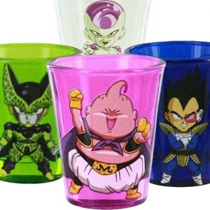 Dragon Ball Z Villain Shot Glasses