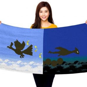 Pokemon Gold And Silver Towel