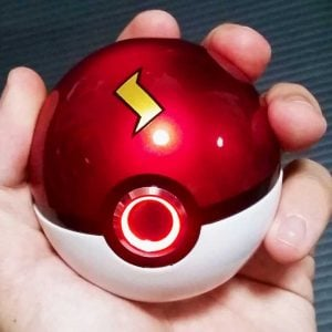 Realistic Light-Up Pokeballs