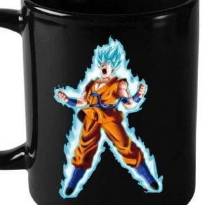 Dragon Ball Z Super Saiyan God Heat Mug