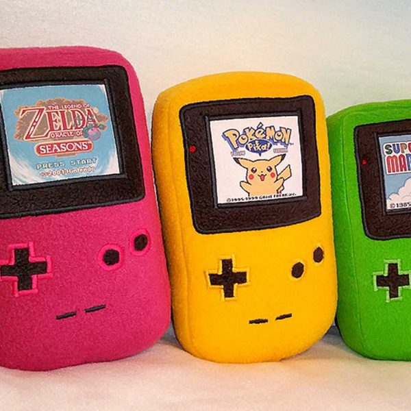 Gameboy Color Plushies Shut Up And Take My Yen