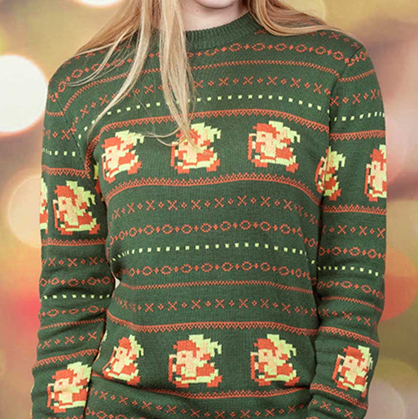 Legend Of Zelda Christmas Sweaters - Shut Up And Take My Yen