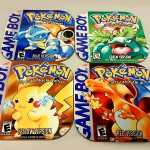 Pokemon Gameboy Coasters