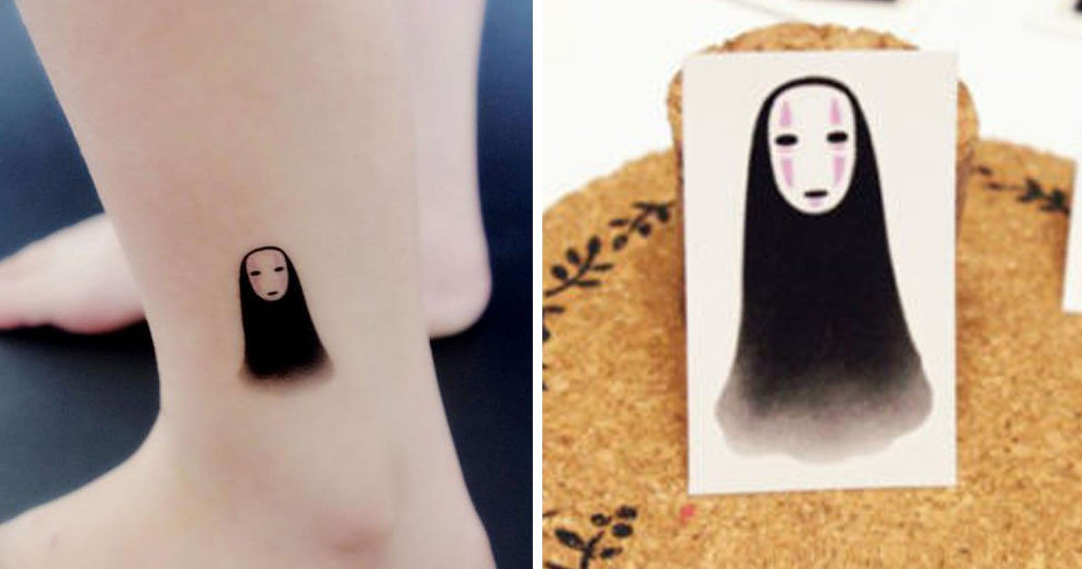 No Face Temporary Tattoo Shut Up And Take My Yen