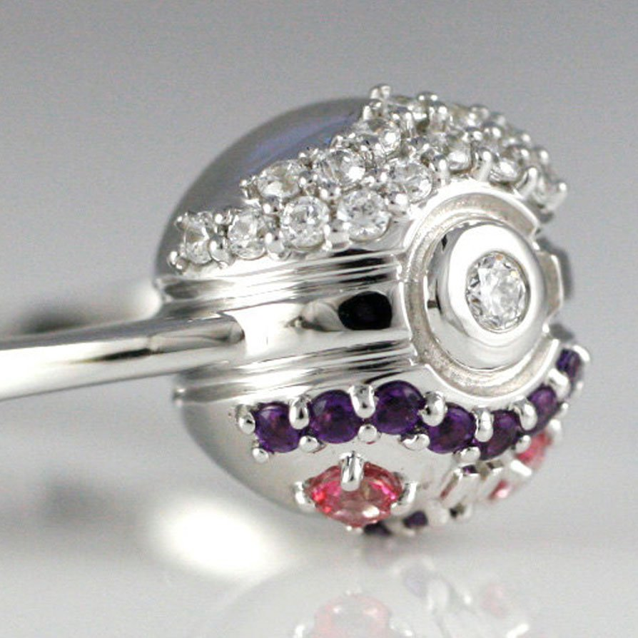 Master Ball Engagement Ring