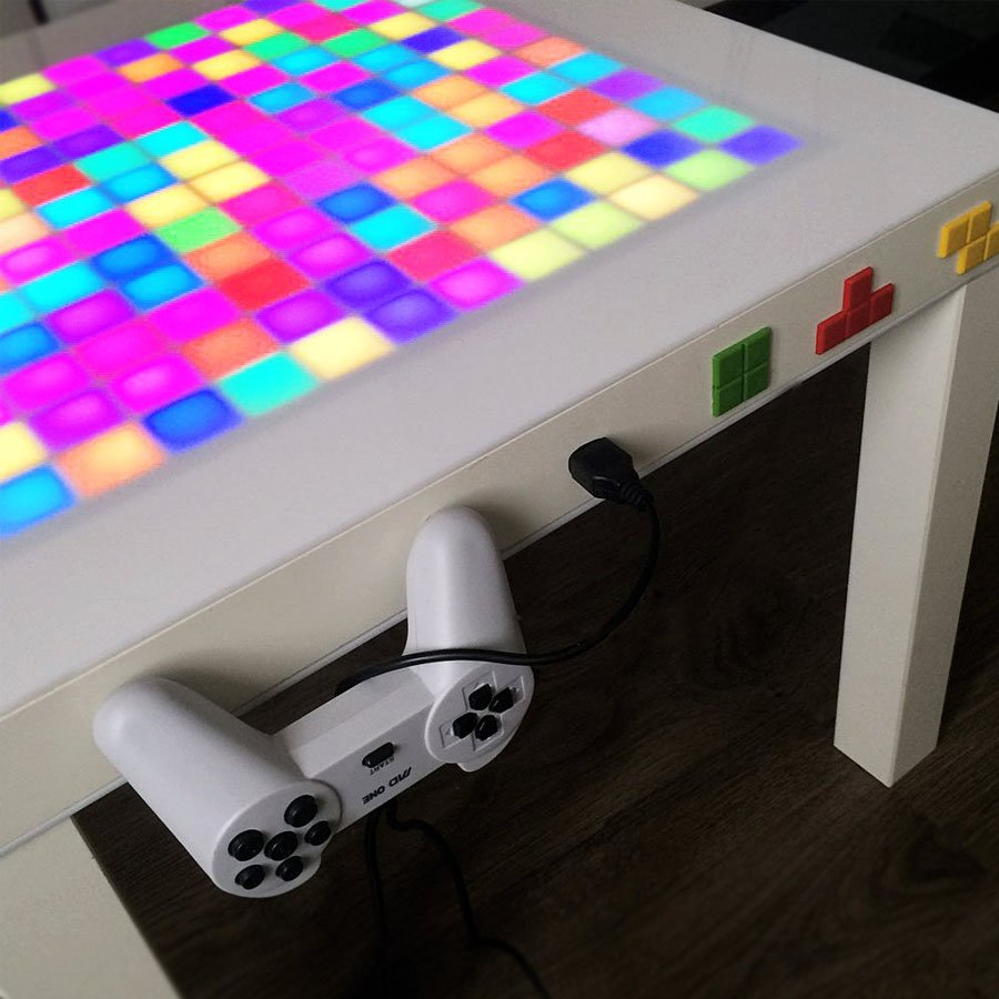 Playable Tetris Coffee Table
