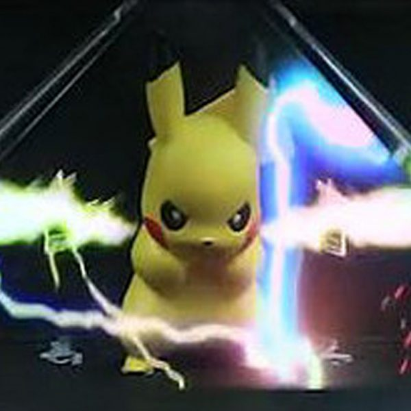 Pikachu Thundershock 3D Hologram - Shut Up And Take My Yen