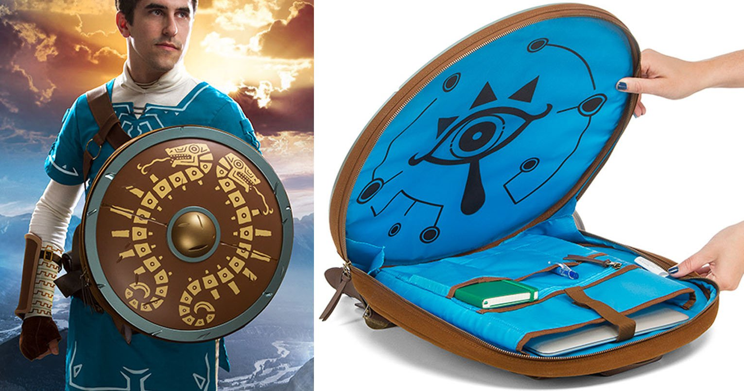 2bd7d35d17 Breath Of The Wild Shield Backpack - Shut Up And Take My Yen