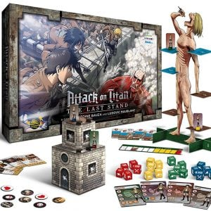 Attack On Titan Board Game