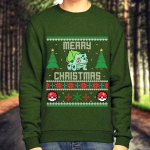 Pokemon Christmas Sweaters