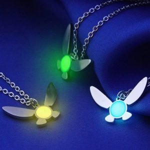 Zelda Glow In The Dark Navi Necklace
