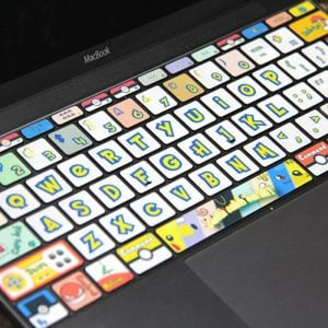 Pokemon MacBook Keyboard Decals
