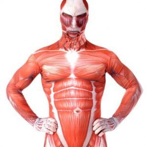 Attack On Titan Colossal Titan Morphsuit