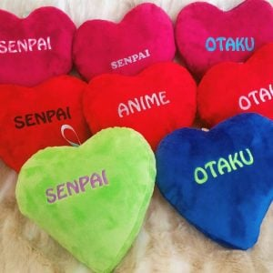 Weeaboo Heart Pillows
