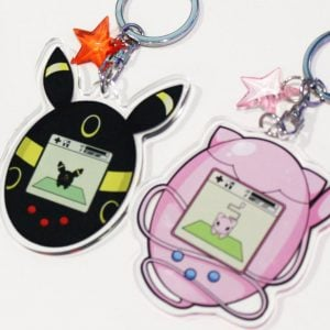 Pokemon Tamagotchi Charms