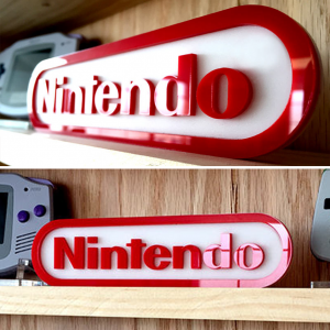 Nintendo Display Sign