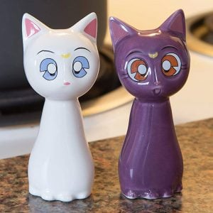 Sailor Moon Salt And Pepper Shakers