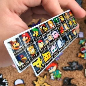 Super Smash Bros Character Roster Pin
