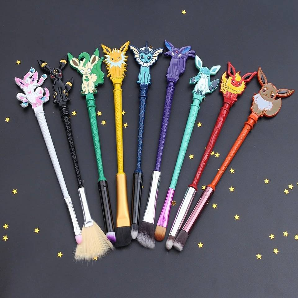 Pokemon Makeup Brush Set