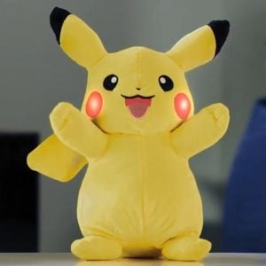Power Action Pikachu Plush