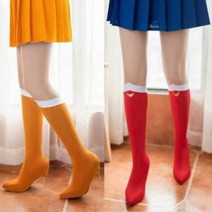 Sailor Moon Shoe Covers