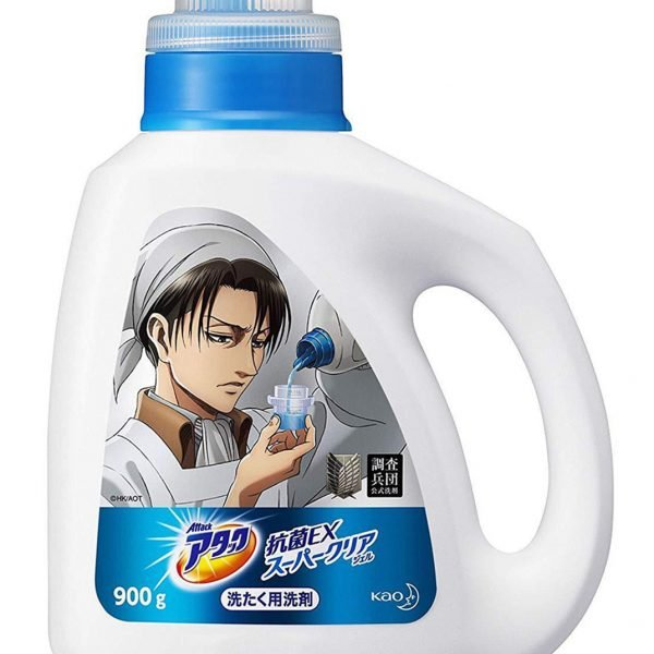 Attack On Titan Laundry Detergent Shut Up And Take My Yen