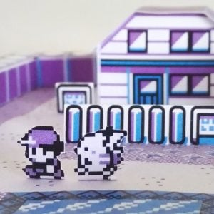 Pokemon Pallet Town Papercraft