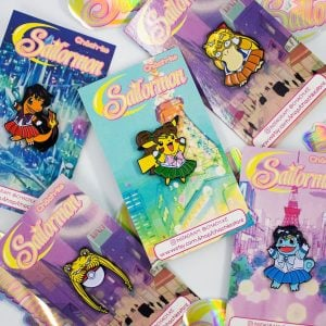 Pokemon X Sailor Moon Pins