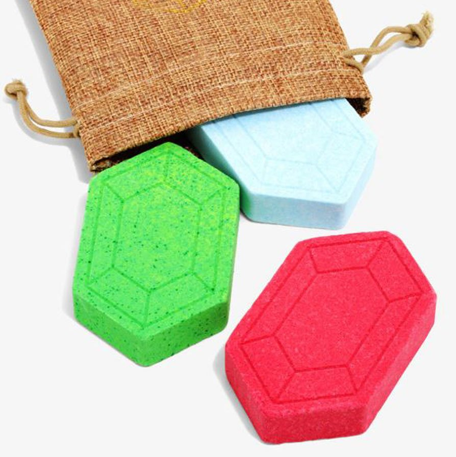 Legend Of Zelda Rupee Bath Bomb Set