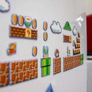 Super Mario Bros Magnets