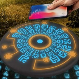 Zelda Sheikah Slate Wireless Phone Charger