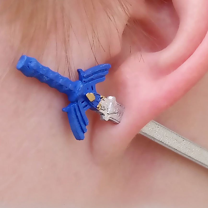 Zelda Master Sword Earrings