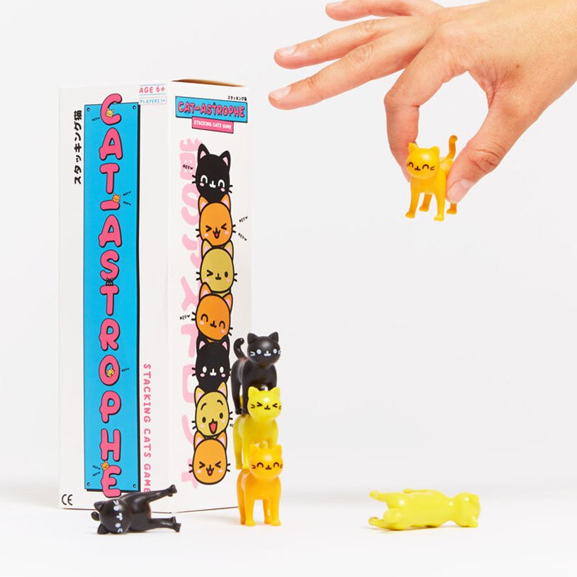 Cat-Astrophe Stacking Game