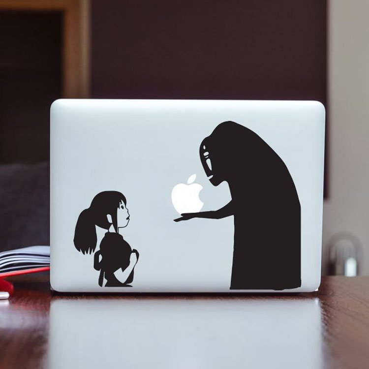 Spirited Away MacBook Decal